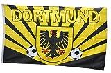 Flaggenfritze Flagge Fanflagge Dortmund Strahlen - 90 x 150 cm
