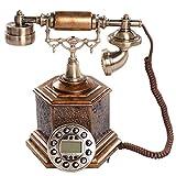 VOIP Telefone Europäische Hochwertigem Amerikanische pastoralen Retro-Telefon Mode Kreative Heimat Bürounterbau Antikes Telefon Retro Telefon