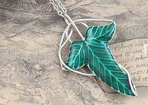 Collier - Pendentif Elven le Seigneur des Anneaux - Hobbit Frondon Aragon