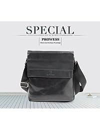 2018 Famous Brand BAIYUDIAO BULUO PU Leather Men Messenger Bags Solid Men Shoulder Bags Vintage Men's Crossbody...