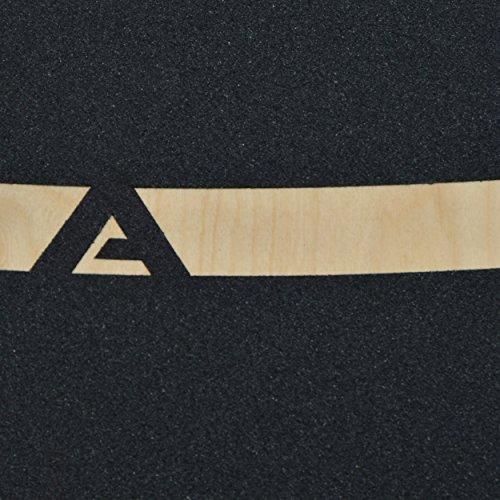 Apollo Longboard Supernova Special Edition Komplettboard mit High Speed ABEC Kugellagern, Drop Through Freeride Skaten Cruiser Boards -