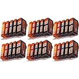 Start - 30 XL Ersatz CHIP Druckerpatronen kompatibel zu PGI-525 / CLI-526 für Canon Pixma MX885, MX895, iP4850, iP4950, iX6550, MG5150, MG5250, MG5340, MG5350, MG6150, MG6250, MG8150, MG8240, MG8250, MX715, MX884
