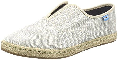 TOMS Damen Palmera Yarn Dye Espadrille Sneakers Schuh-Sahne