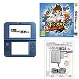 New Nintendo 3DS XL Blu + Yo-Kai Watch + Caricabatteria