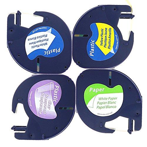 4-x-cintas-para-impresoras-de-etiquetas-compatibles-con-dymo-letratag-91200-s0721510-12267-s0721530-