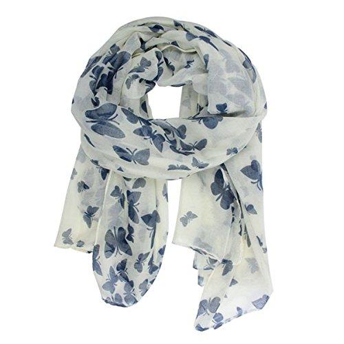 vorcool-voile-echarpe-longue-doux-foulard-avec-papillon-bleu-blanc