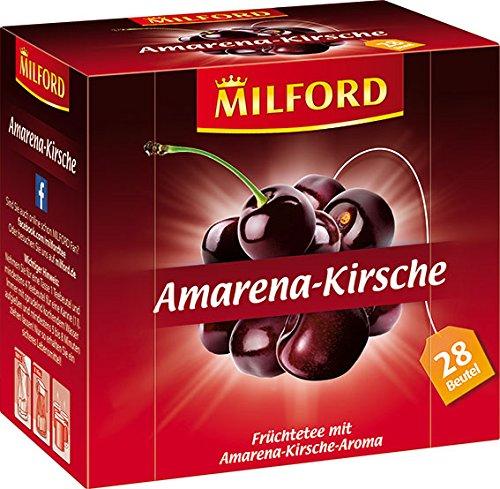 Milford Amarena-Kirsche 28 x 2.25 g, 6er Pack (6 x 63 g)