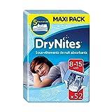 Drynites Mutandine Assorbenti per la Notte per Bambino, 27-57 Kg, 4 Confezioni da 13 Pezzi immagine