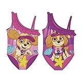 Paw Patrol Girl Badeanzug AUSWAHL Bikini Kinderbadeanzug Beachware Bademode Kinderkleidung (Rüschen Rosa, 6 Jahre)