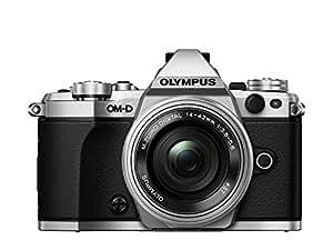 "Olympus E-M5 Mark II Appareil photo hybride Ecran LCD 3"" (7,62 cm) 16,1 Mpix Argent + Objectif 14-42 mm"