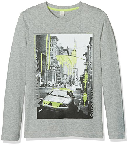 Esprit Kids Baby-Jungen T-Shirt, Grau (Light Gun Metal 045), One size (Herstellergröße: S)