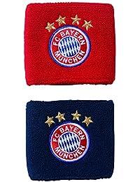 best sneakers 69627 5a299 adidas FCB FC Bayern Monaco, Polsiera Unisex Bambini, Rosso (RojfcbMaruni