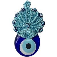 Tradicional turco Crochet para colgar en puerta de cristal mal de ojo buena suerte regalo Idea
