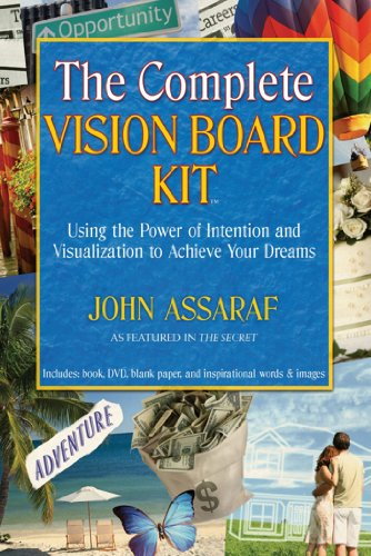The complete vision board kit using the power of intention and the complete vision board kit using the power of intention and visualization to achieve your fandeluxe Choice Image