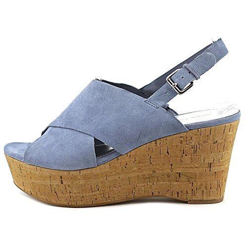 Marc Fisher Sesame Damen Wildleder Keilabsätze Sandale Medium Blue