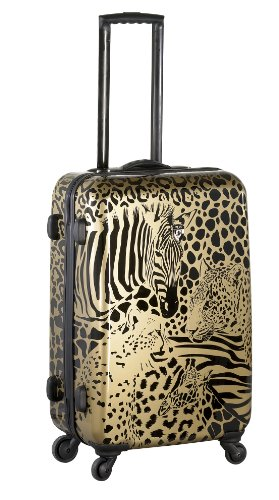 ... 50% SALE ... PREMIUM DESIGNER Hartschalen Koffer - Heys Core Serengeti Metallic Bronze - Trolley mit 4 Rollen Gross Metallic Bronze