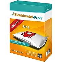 20 Staubsaugerbeutel geeignet für Siemens Q5.0, VSQ5X1230, VSZ3XTRM11, VSZ324XXL, Extreme Power, Made in Germany (SP6) von Staubbeutel-Profi® kompatibel mit Swirl S62 / S67 / S68 / S73 / Y94