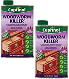 Cuprinol® Woodworm Killer 500ml - Kill All-Types of Woodworm and Prevent Re-infestation - Ideal for fine furniture and floorboard etc (2)