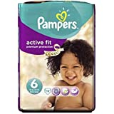 Pampers Taille D'Ajustement Actif 6 (Extra Large) Effectuer Pack 19 Couches