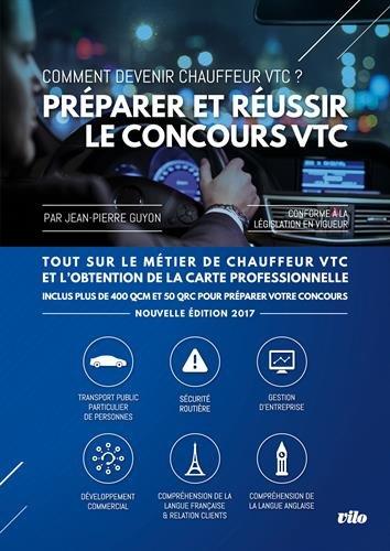 Préparer et réussir le concours VTC - Nouvelle édition par Jean-Pierre Guyon
