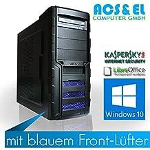 Ultimate GAMER PC - X3RC0N Systeme AMD APU A8-7600, 4x 3.8GHz Quad Core | 8GB DDR3-1600 | 240GB ultraschnelle SSD Disk | Nvidia GeForce GTX-1060, 3GB | Mainboard mit AMD Chipsatz | 580W Netzteil,silent | 5.1 Soundchip | 24x DVD-Brenner | Kaspersky Internet Security - 30 Tage Testversion | Libre Office (Textverarbeitung, Tabellen) | Windows 10 (OEM) 64Bit [98310_W10]