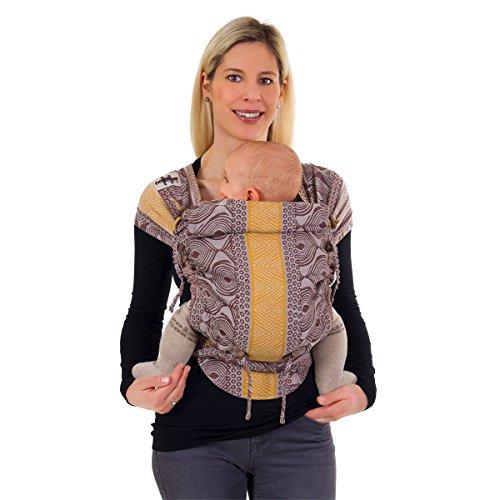 Hoppediz Hop Tye Conversion, fascia per trasporto porta bebè in tessuto, incl. Istruzioni (lingua italiana non garantita)