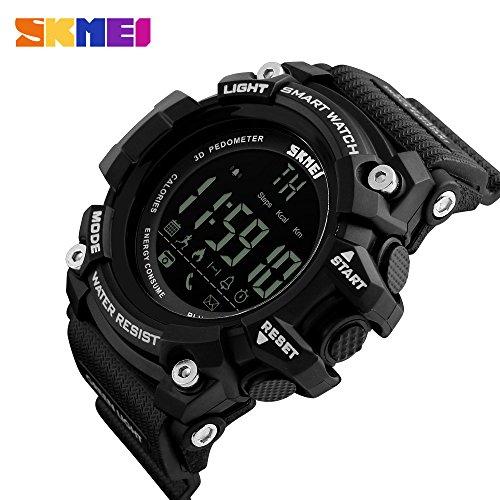 Intelligente Uhr, Bluetooth Smartwatch, Aktivitätstracker - Sport