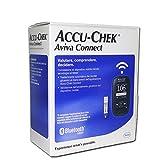 NUOVO KIT ACCU CHEK AVIVA CONNECT - Misuratore di Glicemia con Tecnologia Bluetooth