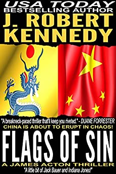 Flags of Sin (A James Acton Thriller, Book #5) (James Acton Thrillers) by [Kennedy, J. Robert]