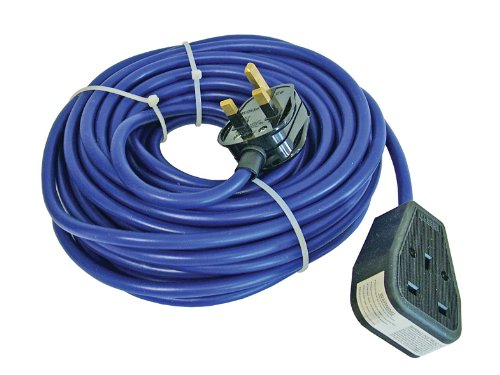 Price comparison product image Faithfull TL14M Trailing Lead 14 Metre (240 Volt) 13 Amp 1.5 mm Cable