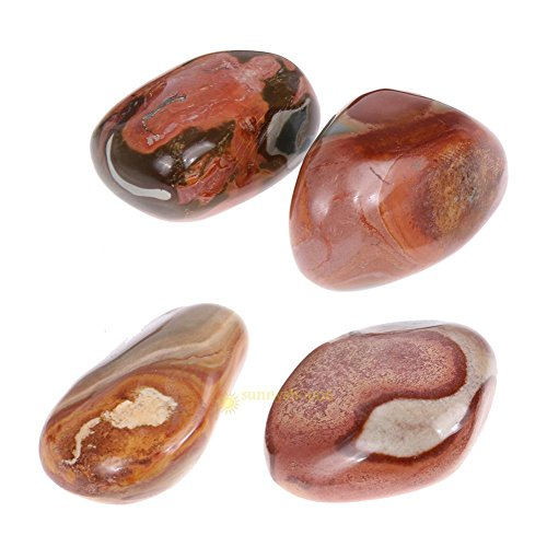 AST Works 1.1 pounds Pure Natural Ocean Jasper Stone Mixture(500g) SS6
