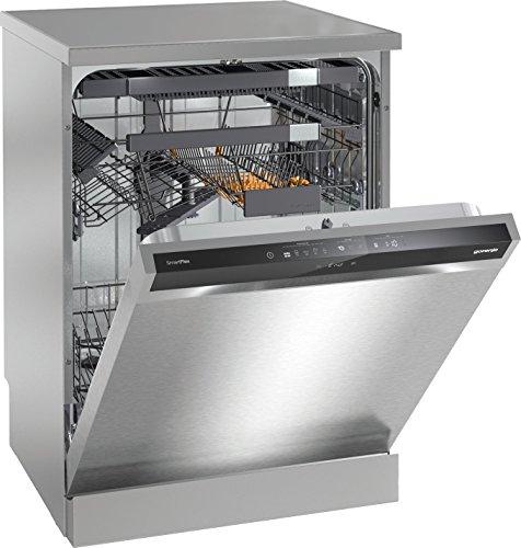 Gorenje GS66260 X 16places A+++ lave-vaisselle - Lave-vaisselles (Grey,Metallic,Silver, Toucher, 16 places, 45 dB, A, Délicat, Économie, Intensif, Normal, Rapide) Gorenje