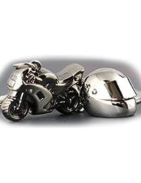 Kolossalz Bike Helmet Metal Keychain For Bike & Car Men Boys