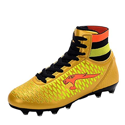 Ben Sports Kids Adults Mens Boys Cool FG/AG Football Cleat Soccer Shoes Football Boots Gold,EUR 33-46