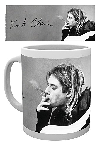 GB eye, Kurt Cobain, Smoking, Tazza