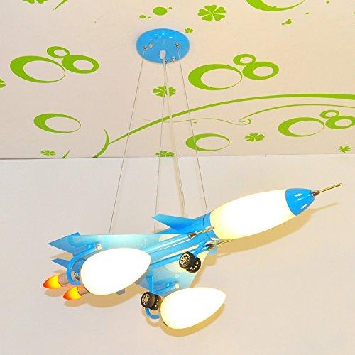Dual-Saughöhe Flugzeug Kinderzimmerlampe Kronleuchter Kinderwagen Cartoon Jungen und Mädchen mit Schlafzimmer Deckenbeleuchtung - 4