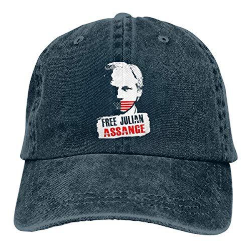 Free Press Free Assange Baseball Cap Vintage Dad Hat Adjustable Polo Trucker Unisex Style Headwear