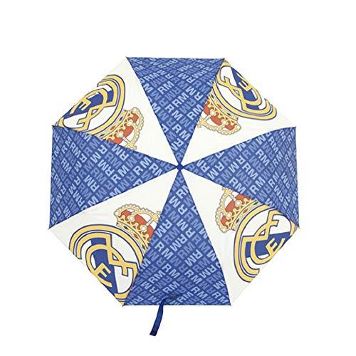 Paraguas Real Madrid Plegable - Paraguas Oficial Real