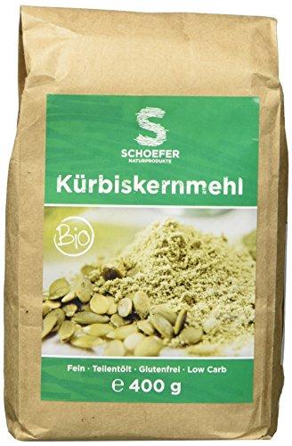 Preisvergleich Produktbild Kürbiskernmehl Bio teilentölt glutenfrei Low Carb 400 g