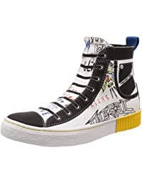 Mens S-Imaginee Mid on Low-Top Sneakers, Multicolour (H2111 H2111), 6 UK Diesel