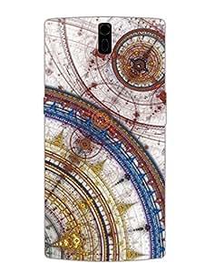 OnePlus 1 Back Cover - The Gods Blue Print - Designer Printed Hard Shell Case