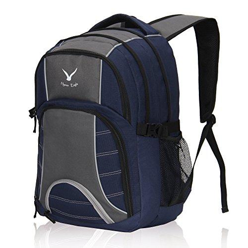Imagen de veevan bolsas de viaje de negocios laptop colegio  hasta 17 pulgadas  turqui+gris