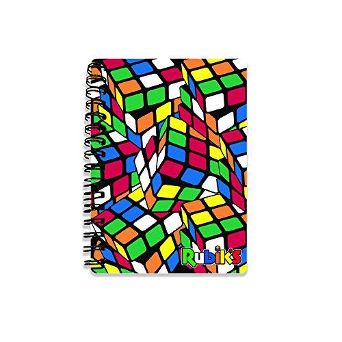 Rubiks 's rb182423D Notebooks, Multi, 10,5cm x 14,5cm