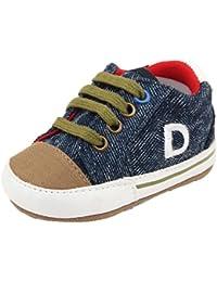Scarpe da bambino ragazzo Rcool Baby Girl ragazzi Fox High Cut Shoes Sneaker antiscivolo morbida Sole Bambino ,Scarpe da bambino di tela