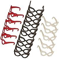 Sharplace 20 Paar Puppenbrille Brille / Gläser aus Kunststoff für Barbie / 29cm Puppe - Zufällige Farbe