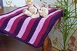 Baby Decke Kinder Decken Wolle strickte