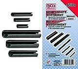 BGS 8054280)/Assortiment de barrettes à ressort (450pièces)