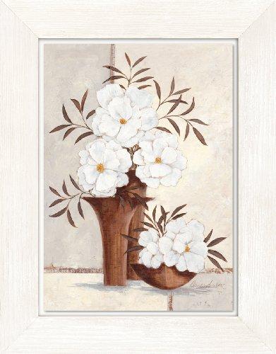 Eurographics H-M-CA4106D Vintage Style - Cuadro con marco blanco de madera (36 x 46 cm), diseño de