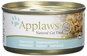 Applaws Douille de Thon Filet pour Chat 24 x 70 g