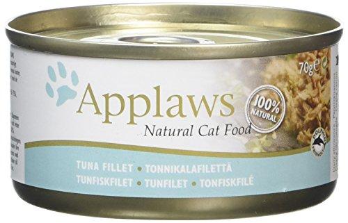 Applaws Cat Tuna Fillet, Dose, 1er Pack (1 x 1.68 kg)